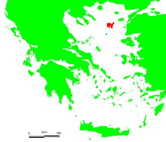 Chryse (island) - Location of Lemnos