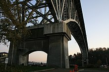 Image result for aurora bridge seattle from below