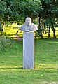 Galeria rzeźby w Parku Reagana - Günter Grass (Anna Bem-Borucka, 2008).jpg