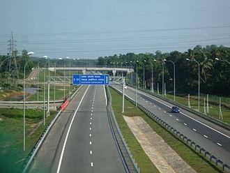 E01 expressway (Sri Lanka) - Image: Galle Expressway