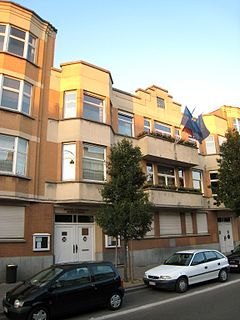 Ganshoren Municipality in Belgium