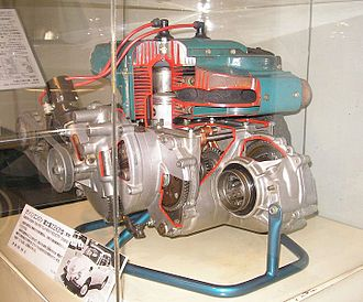 Subaru 360 - EK31 engine of Subaru 360