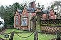 Gate lodge of Dorfold Hall, near Acton - geograph.org.uk - 704926.jpg
