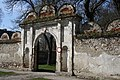 Gate of castle gardens of Brtnice castle in Brtnice, Jihlava District.jpg
