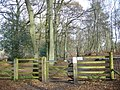Gated bridleway on Chapel Common - geograph.org.uk - 1053934.jpg