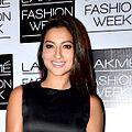 Gauahr Khan at Lakme Fashion Week.jpg