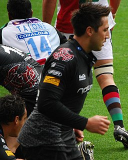 Gavin Henson Welsh rugby union player