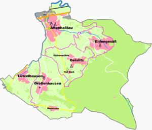 Linsengericht - Constituent communities