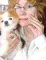 Gena Medici Etherton & little dog Dorothy.jpg