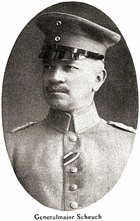 deutscher Offizier, zuletzt General der Infanterie sowie preußischer Kriegsminister