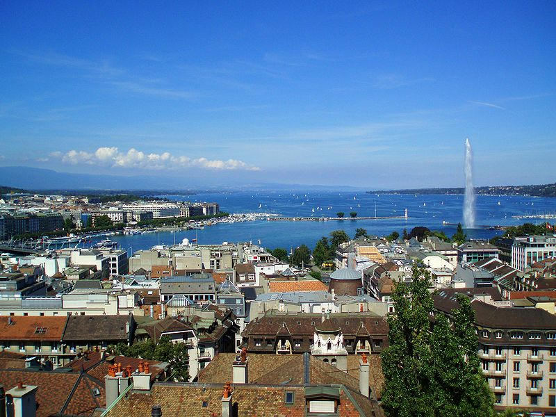 File:Geneva From Cathedral.JPG