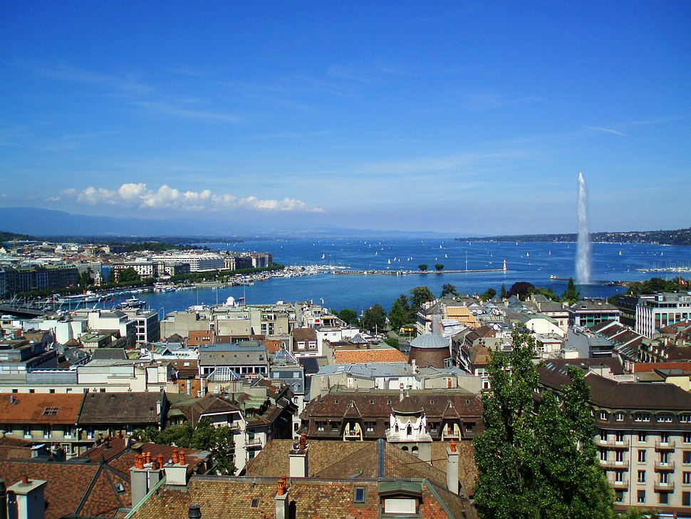 Geneva From Cathedral
