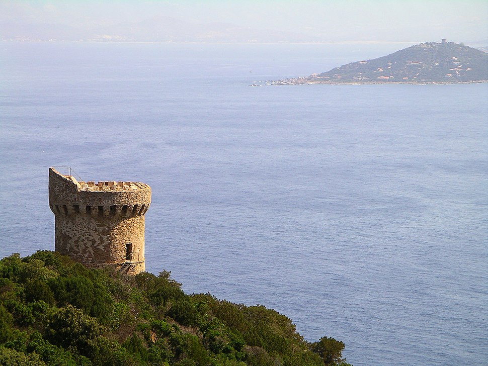 Genoise tower in corsica