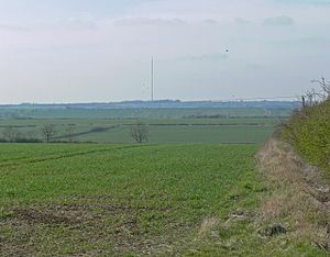 BBC East Midlands - Waltham transmitter in Leicestershire countryside