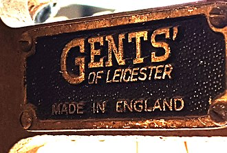 Gents' of Leicester - Typical Gents' of Leicester logo.