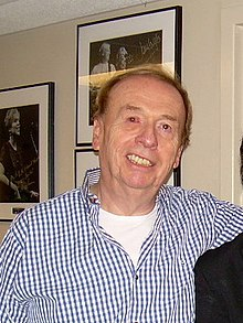 Geoff Emerick, backstage at Sgt. Pepper Live Featuring Cheap Trick, 2010.jpg