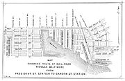 George Brown map