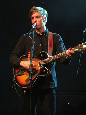 George Ezra - Ezra performing at the O2 Academy Glasgow in 2015
