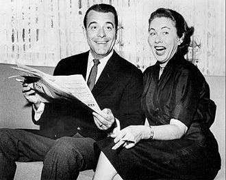 George Fenneman - George and Peggy Fenneman, 1958