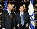 George Mitchell and Isaac Herzog at the King David Hotel, Jerusalem, 2009.jpg