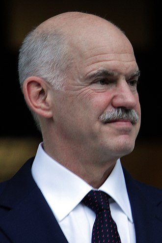 Greek legislative election, 2009 - Image: George Papandreou 2011 (cropped)
