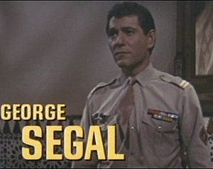 George Segal - Segal in the trailer for Lost Command