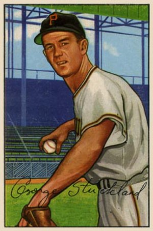 George Strickland (baseball) - Image: George Strickland 1952