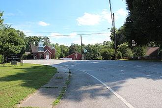 Georgia State Route 113 - SR 113 in Temple.