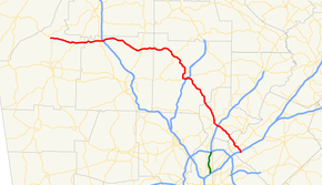 Georgia state route 140 map.png