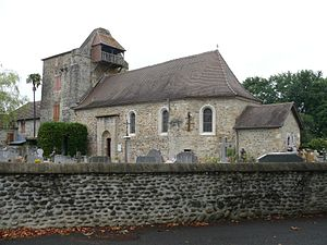 Gestas, Pyrénées-Atlantiques - The church of Gestas