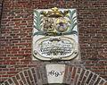 Gevelsteen aan de Johanneskerk in Toppenhuzen..JPG