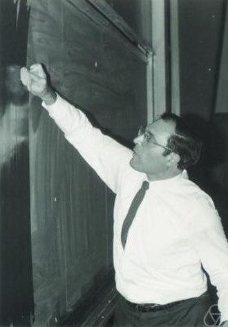 Gian-Carlo Rota - Rota in 1970.