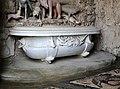 Giardino di castello, grotta degli animali o del diluvio, vasca di sx 08 vasca con pesci del tribolo del 1546-49, 1.jpg