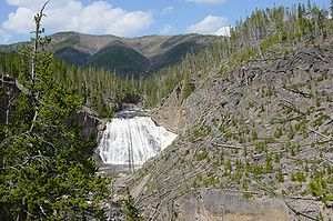 Gibbon Falls in Yellowstone.JPG