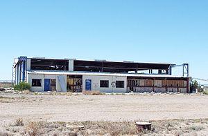 Gila River Memorial Airport - Abandoned terminal