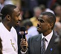 Gilbert Arenas, David Aldridge.jpg