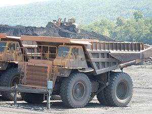 Gilberton, Pennsylvania - Image: Gilberton Coal Co Trucks, Gilberton PA 01