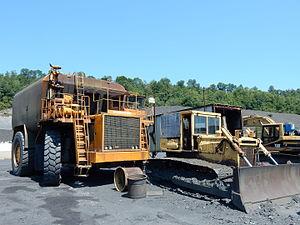 Gilberton, Pennsylvania - Image: Gilberton Coal Co Trucks, Gilberton PA 04