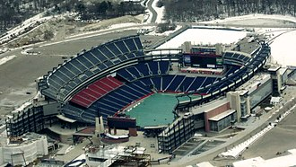 2014 Chicago Bears season - The game was played at Gillette Stadium