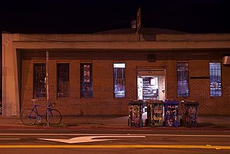 924 Gilman Street - Front of Gilman in late 2009