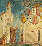 Giotto - Legend of St Francis - -10- - Exorcism of the Demons at Arezzo.jpg