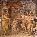 Giovan battista fiorini, Liutprando conferma a Gregorio II la donazione di Ariperto, 1565, 02.jpg