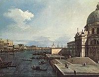 Giovanni Antonio Canal, il Canaletto - The Grand Canal at the Salute Church - WGA03917.jpg