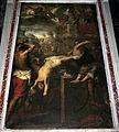 Giovanni battista carlone, san clemente subisce il martirio della ruota, 01.JPG