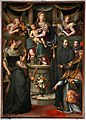 Giovanni maria butteri, sacra conversazione, 1597, 01 da san michele in forcole.jpg