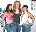 Girl, Kayla Paige, Bianca Dagger at Evil Angel Party 5.jpg
