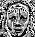 Girl, Mursi Tribe, Ethiopia (21000151414).jpg