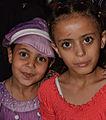 Girls in Sanaá, Yemen (15851267023).jpg