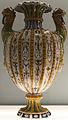 Gironimo Tomasi - Vase godronné à décor de grotesques et anses en protomés de félins (Majolique, 1582).jpg