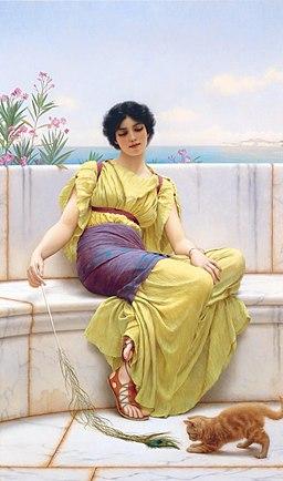 Godward Idleness 1900